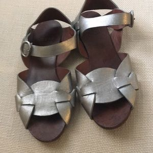 See by Chloe silver sandals